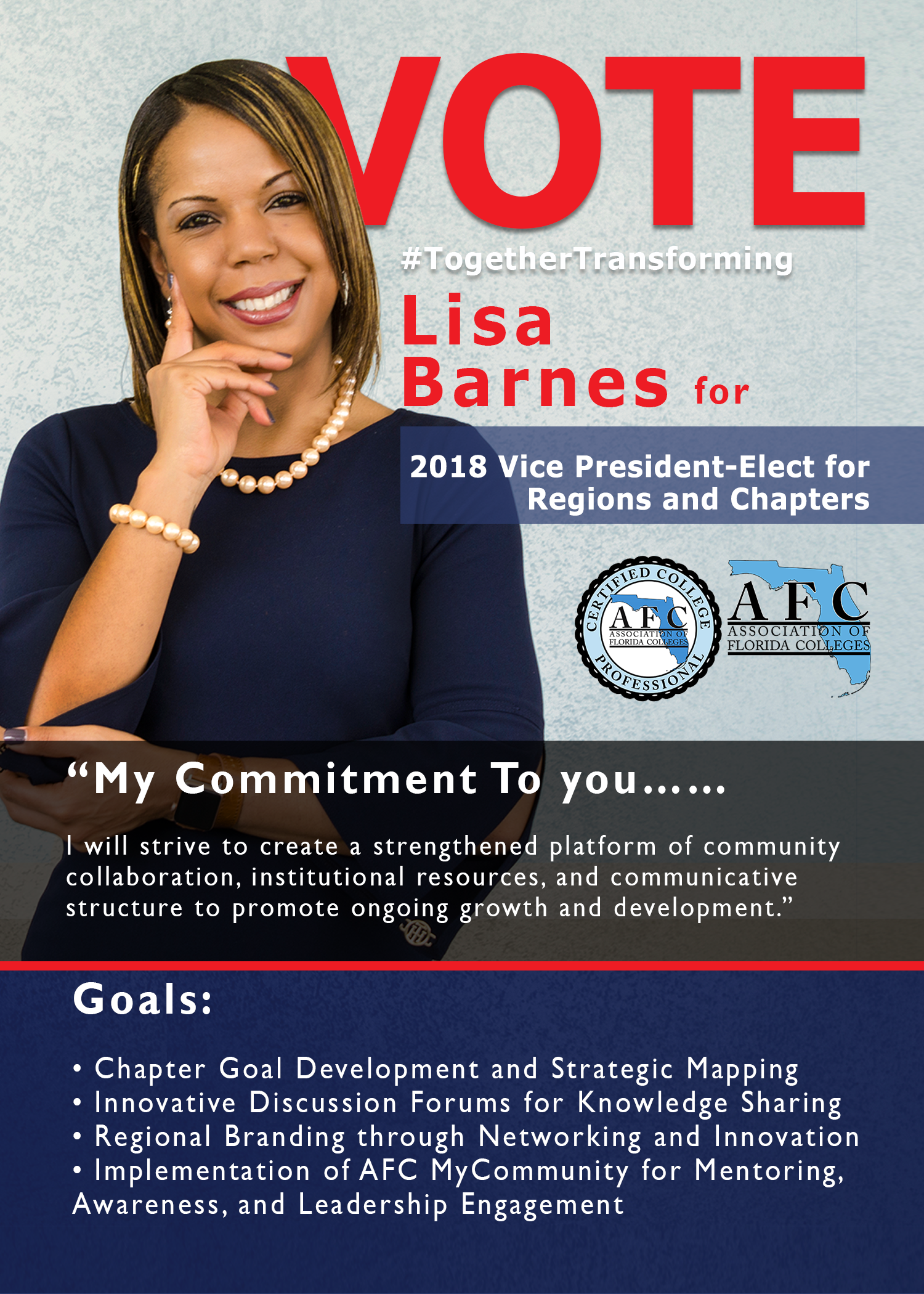 2019 Statewide Officer Candidates L Barnes
