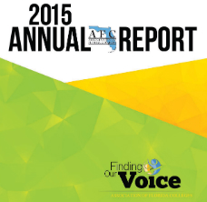 AFC 2015 Annual Report cover